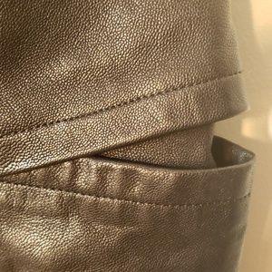 Other Faith Jackets & Coats - Leather Moto Jacket Vest Convertible